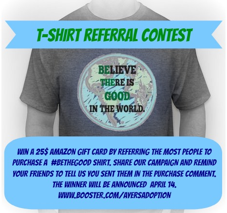 tshirt referral contest graphic